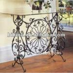 2012 china factory decorative iron coffee tables wrought iron table frame table base