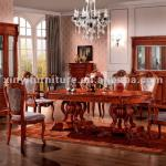 wooden dining table set FA838