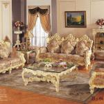 French lounge/leisure fabric sofa,antique style living room set furniture-antique sofa furniture