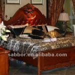 811 wooden bedroom set italian bedroom set antique carving king bed