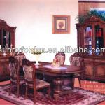 2013 Hot antique dining room furniture