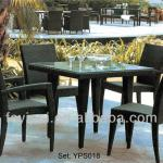 outdoor patio rattan/ wicker dining furniture set