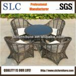 Round Table and Chair Set Rattan Dining Set Wicker (SC-B8954)