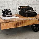 Industrial Coffee Table Cart-JIC-46 B