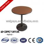 2014 new outdoor table and chairs compact table top