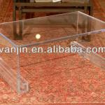 Acrylic Greek Style Lucite Transparent Plexiglass Console Table,Acrylic Livingroom Furniture,Plexiglass Desk