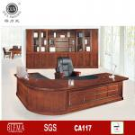 oak wood luxury office conference table GB-A6133