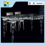 High quality acrylic dining table base