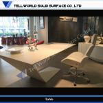 TW Modern Design artificial stone office table office executive desk (TW-PATB-236)-TW-PATB-236