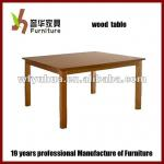 Wood Dining Table Designs-YH-table24