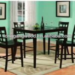 Aristocratic luxury type oak dining table and chairs,dining table sets,wood furnitre-LG-542
