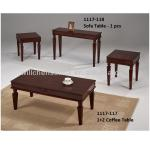 1117-117 Solid Wood 1+2 Coffee Table-1117-117