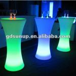 PE Material Rotational Moulding Plastic LED bar table