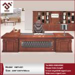 Antique solid wood executive desk for boss