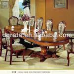 2013 Europe type stretch dinning table was made by import oak solid wood used for dinning room
