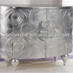 MCB-1119 Top Quality Silver Leaf Console Table