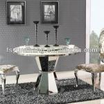 large granite top dining room round tables-Y-1257A