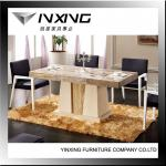 latest designs of square dining table marble D1110