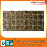 NATURAL SLATE RECTANGLE MOSAIC stain resistant tabletop