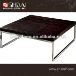 TA24 Fashion design coffee table with stainless steel leg