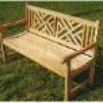 antique patio bench-YW-007