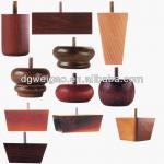 Elegant and high quality wooden furniture feet-ZF93 Wooden table leg