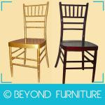 Golden Color Metal Used Banquet Chairs For Sales-BYD-CL-1101