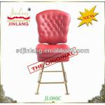 leather casino furniture-JL080C red