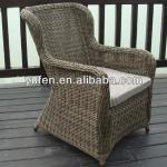 UV-resistant dining furniture wicker dining armchair-YF6065