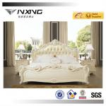 classic solid wood carve luxury bed 808-808
