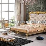 Classic Italian style Bedroom furniture solid wood bed-DXY-SW-bed#