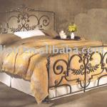 wrought iron bed-