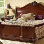 Latest- Classic Solid Wooden Bedroom Furniture Bed-AC221D01