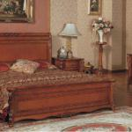 Manual Solid wood bed Classical bed Carved solid wood bed-SR-701-15
