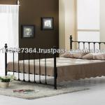 classic metal bed-