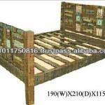 RECYCLE WOOD BED-BBM 128