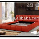 Autique leather bed BF-AU01-27-BF-AU01-27,metal bed