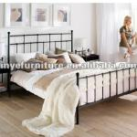 strong king size metal bed-MB-21