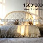 luxury classical bed-BA-1403