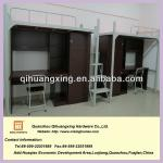 china two people metal bunk beds furnitures-QHX-TC002