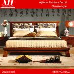 High grade Chinese antique style wooden furniture king bed EA03-EA03