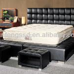 Leather Bed Frame (9105#)-9105#