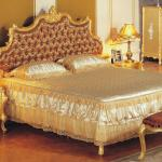 European Style Broque Classic Italian bedroom furniture-0403