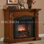 MDF Fireplace Wood Mantel-MTW2624-005A-BC207