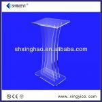 clear acrylic commercial pulpit funitures podium-xingyi-p-007
