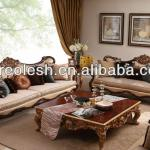 AC-3144 Antique Four Seater Sofa Solid Wood-AC-3144