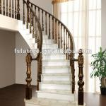 High quality luxury solid wood staircases-FT-T08