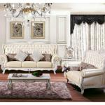 High quatity living room traditional leather sofa with factory price-HX-120
