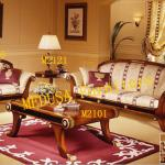 classical sofa and coffee table-M2
