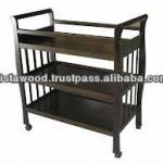 baby changing table, wooden baby furniture, tray-